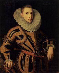 JUAN PANTOJA DE LA CRUZ. 1553-1608. Don Diego de Villamayor