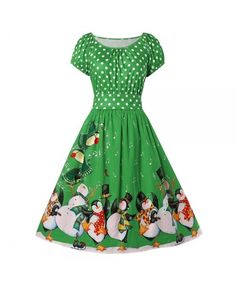 Buy Penguin Print Christmas Dress - Clover Green - 3902840034 online, fidn many other Plus Size Women's Clothing Plus Size Womens Clothing, Clothes For Women, Christmas Tree Sweater, Clover Green, Penguins, Women's Clothing, Backless, Summer Dresses, Sweaters