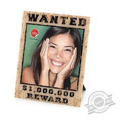 Frame Wanted 15x20 acrilic - Balvi