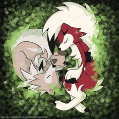 Rockruff and Lycanroc