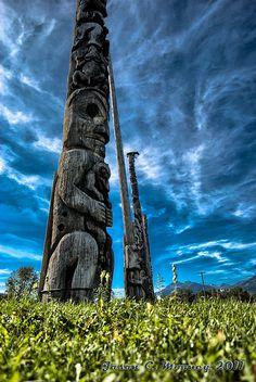Kitwanga Totem Kitwanga, British Columbia