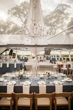 #Wedding reception tent ♡ 'How to plan a wedding' iPhone App ... Your Complete Wedding Reception Guide ♡ https://itunes.apple.com/us/app/the-gold-wedding-planner/id498112599?ls=1=8 ♡ Weddings by Colour ♡ http://www.pinterest.com/groomsandbrides/boards/