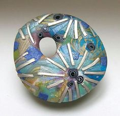 Sea cliff brooch by Tory Hughes  http://www.toryhughes.com/art-2/jewelry/seacliff-brooches/