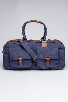 J. Campbell Washed Canvas Duffle