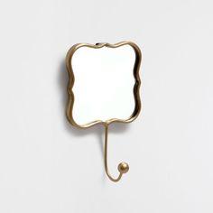 GOLDENER KLEIDERHAKEN MIT SPIEGEL - Kleiderbügel - Dekoration | Zara Home Deutschland