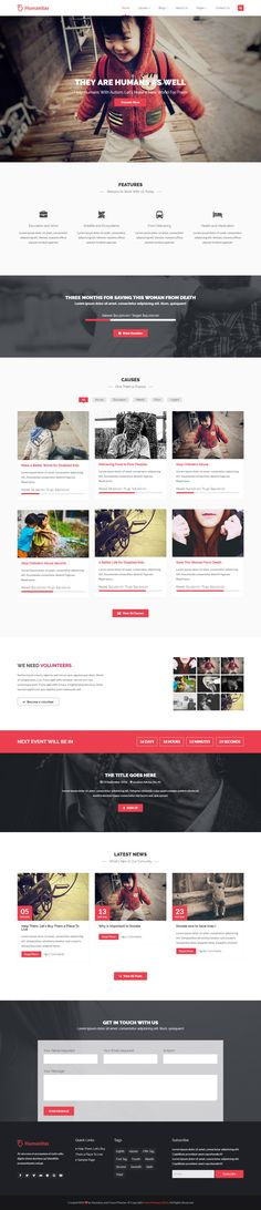 Humanitas is a modern WordPress theme suited for Charity, Non-profit, Donation or Fundraising Organisations. The premium plugin, Total Donations, is included so you can benefit from all the options offered, including four methods of payments and a bunch of cool features. We also included the Visual Composer with 12 extra sections, so you can easily create pages in no time. And off course, the Revolution Slider, to create eye catching slides for your visitors.