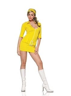 Leg Avenue Yellow Soda Pop Costume Leg Avenue Yellow Soda Pop Costume [LA-83143] - £39.90 : Get It On Fancy Dress Superstore, Fancy Dress & Accessories For The Whole Family. http://www.getiton-fancydress.co.uk/adults/throughthedecades/1970sdisco/legavenueyellowsodapopcostume#.UpH1CycUWSo