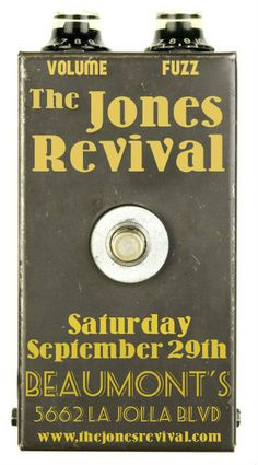 The Jones Revival returns to Beaumont's September 29th.