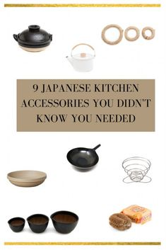 9 Japanese Kitchen Accessories You Didn't Know You Needed