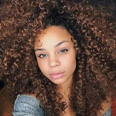82 fantastic hairstyle tutorials for naturally curly hair Big Curly Hair, Curly Hair Styles, Natural Hair Styles, Curly Girl, Afro Hairstyles, Straight Hairstyles, Leyla Rose, Curly Hair Tutorial, Big Chop