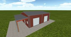 Cool 3D #marketing http://ift.tt/2uuHOVT #barn #workshop #greenhouse #garage #roofing #DIY