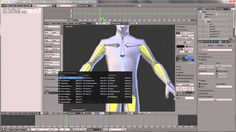 Blender: Introduction to Character Rigging - not sure i can follow this yet...but he downloads a human base mesh, provides link