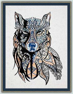 "BFC-Creations Machine Embroidery Designs These designs for the Large Wolf are designed to be stitched on one piece of fabric. In addition to a picture, you could use the Large Wolf on a pillow, a vest or the back of a jacket. I can also see him on a great living room or den throw. FINISHED SIZE OF EMBROIDERY MEDIUM: 7.7"" x 11.3"" LARGE: 9.3"" x 13.5"" JUMBO: 12.1"" x 17.6""  A Commercial size BFC1541commercial (7.7"" x 11.3"") of the entire Large Wolf will be included in all sets."