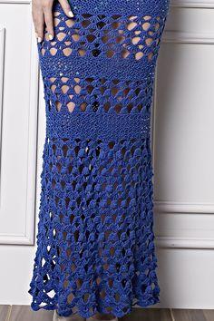 As festas de fim de ano estão chegando! Pensando nisso hoje selecionamos uma sugestão para usar na virada do ano novo.   O vestido de cro...