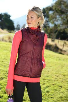 Vail Vest + Alacrity Half Zip | Athleta Fall 2013 Collection
