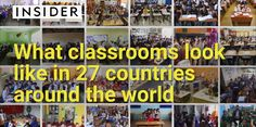 Cum arată o clasă de școală în 27 de țări din toată lumea (VIDEO)
