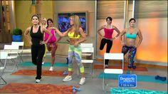 Despierta America - Haz ejercicio para tus glúteos con una silla