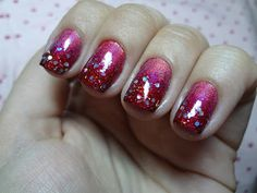 How to Ombre Glitter, Nail Art Ideas : Everything About Fashion Today!