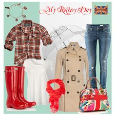 My rainy day..., created by sweetcottoncandylollipop on Polyvore