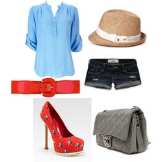 4th of July, created by jillsyb.polyvore.com