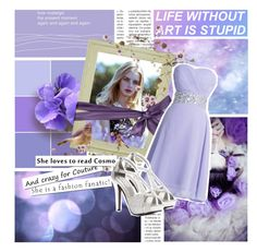"""Life Without Art Is Stupid."" by elizabeth4ever ❤ liked on Polyvore"