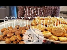 SCONES SIN MANTECA | INTEGRALES (Avena y Sin Azúcar) & BLANCOS - YouTube Scones, Cereal, Breakfast, Cupcakes, Food, Oatmeal Cookies Without Butter, Clean Eating Oatmeal, Favorite Recipes, Salad
