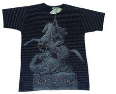 Camiseta São Jorge - Manga Curta - Tamanho P
