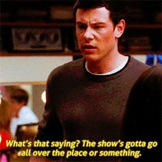 We miss you Finn. We miss you Cory.