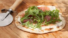 Prosciutto and Arugula Pizza Recipe : Katie Lee : Food Network
