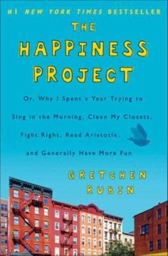 The Happiness Project, by Gretchen Rubin. Call number: BF575.H27 R83 2009. Rubin is not an unhappy woman: she has a loving husband, two great kids and a writing career in New York City. Still, she could-and, arguably, should-be happier. Thus, her methodical (and bizarre) happiness project: spend one year achieving careful, measurable goals in different areas of life (marriage, work, parenting, self-fulfillment) and build on them cumulatively, using concrete steps.
