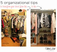 Tiffany Leigh Interior Design: 5 Organizational Tips for your Closet