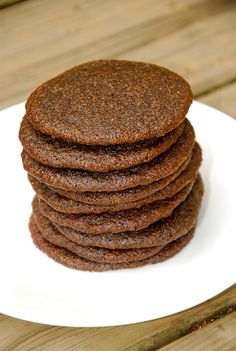 paleo chocolate cookies...so many more great recipes at this blog, too! :)