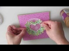 Blooming Heart | Cardmaking Process Cardmaking, Bloom, Make It Yourself, Crafty, Heart, Youtube, Cards, Maps, Youtubers