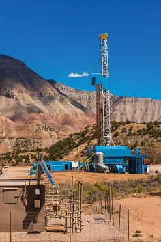 They call it The Beast: WPX Energy's Cyclone rig 17 on the GM 41-4 well and MV 7-4 pad production equipment – a big Niobrara sweet spot in the Piceance Basin. Photo by Jim Blecha/Courtesy WPX Energy