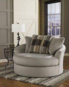 Charmant Oversized Swivel Accent Chair More
