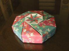 折り紙で小物入れを作りました!:Ryu's cafe(団塊オヤジの徒然日記):So-netブログ