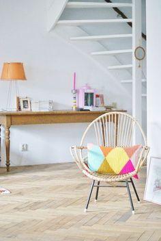 Des meubles en ritin tendance. Rattan furniture. So trendy!