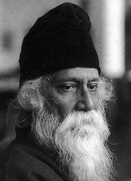 """Rabindranath Tagore (1861 – 1941)was a Bengali polymath, poet and humanist who reshaped his region's literature and music. Author of Gitanjali, its """"profoundly sensitive, fresh and beautiful verse"""", he became the first non-European to win the Nobel Prize in Literature in 1913.  See article - NYTimes.com"""