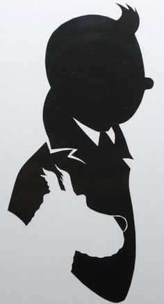 Sticker déco autocollant vinyle BD Tintin et milou silhouette profil | Maison, Décoration intérieure, Décorations murales, stickers | eBay! Tin Tin Comic, Tin Tin Cartoon, Silhouette Art, Silhouette Cameo Projects, Art And Illustration, Mickey Mouse Wallpaper Iphone, Pokemon Lugia, Deco Stickers, Art Africain