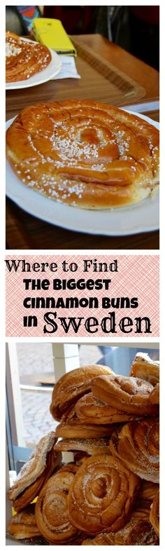Come find the biggest Cinnamon buns in Sweden!