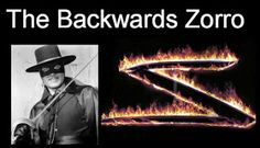 Think * Share * Teach: The Backwards Zorro