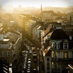 Brussels, Belgium via Tumblr. It was actually taken the day that I arrived in Brussels for the first time.