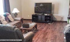 Spice Oak flooring in the #livingroom Photo compliments: Joy H.  #oakflooring #laminate