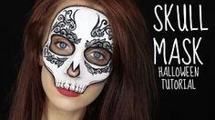 hallowen makeup tutorial - YouTube