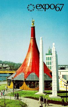 The Ethiopian Pavilion (Expo 67)