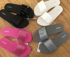 M Size 7 Sandals Slide for Women for sale Cute Slides, Jelly Slides, Old Navy Flip Flops, Beach Flip Flops, Bling Sandals, Cute Sandals, Old Navy Slippers, Handbag Stores, Balenciaga Shoes