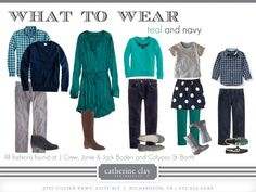 family photo outfits Catherine Clay Photography: What to Wear-Fall Navy Family Pictures, Fall Family Picture Outfits, Family Portrait Outfits, Family Photo Colors, Family Pictures What To Wear, Winter Family Photos, Family Outfits, Family Pics, Family Portraits
