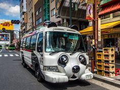 One of the most unusual things you can spot in the streets of Asakusa: the shuttle bus of the Hanayashiki (http://www.hanayashiki.net/e/) amusement park, the first of its kind in Japan with a history going back to 1853! #Asakusa, #Hanayashiki, #bus, 2015 © Grigoris A. Miliaresis