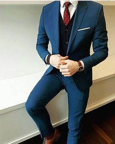 3,867 отметок «Нравится», 27 комментариев — Modern Men Classic Style (@modernmenclassicstyle) в Instagram: «Yes or no?  #modernmenclassicstyle» #Menssuits Mens Fashion Suits, Mens Suits, Womens Fashion, Terno Slim, Designer Suits For Men, Herren Outfit, Suit And Tie, Wedding Suits, Men's Fashion Styles