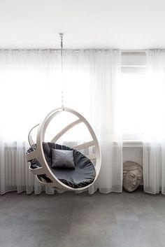 statement hanging chair